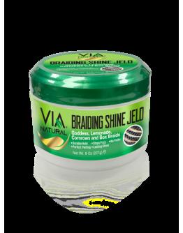 VIA Natural Braiding Shine Jelo  8 oz