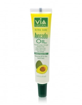 Via Natural Oil for Hair, Scalp & Body Treatment (Avocado Oil) (1.5 oz)