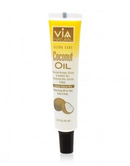 Via Natural Oil for Hair, Scalp & Body Treatment (Coconut Oil) (1.5 oz)