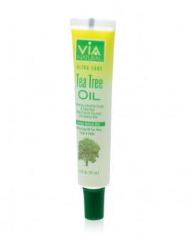 Via Natural Oil for Hair, Scalp & Body Treatment (Tea Tree Oil) (1.5 oz)