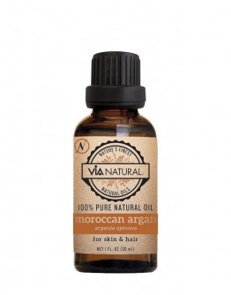 Via Natural 100% Pure Natural Oil - Moroccan Argan Oil (1 FL OZ)