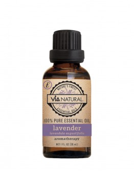 Via Natural 100% Pure Essential Oil - Lavender Oil (1 oz)