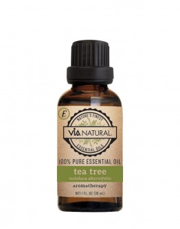 Via Natural 100% Pure Essential Oil - Tea tree Oil (1 oz)