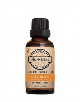 Via Natural 100% Pure Natural Oil - Vitamin E Oil (1 oz)
